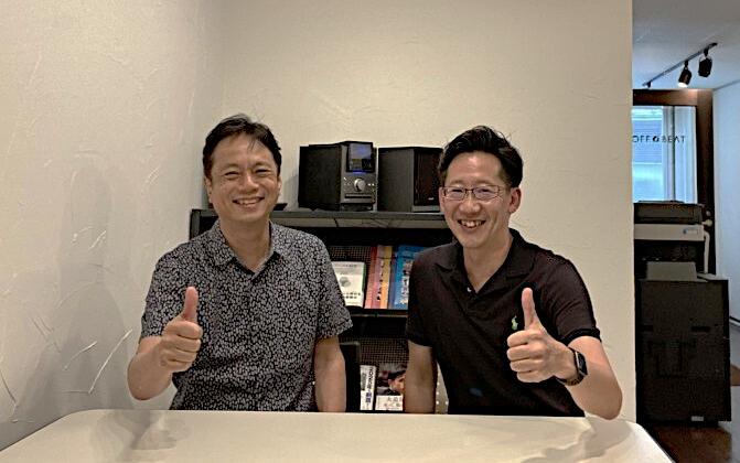 株式会社オフ・ビート代表取締役 北田さん(左)と前田さん(右)